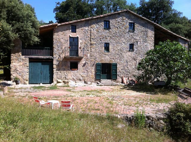 Auténtica Masia del S.XVI - Sant Esteve d'en Bas - บ้าน