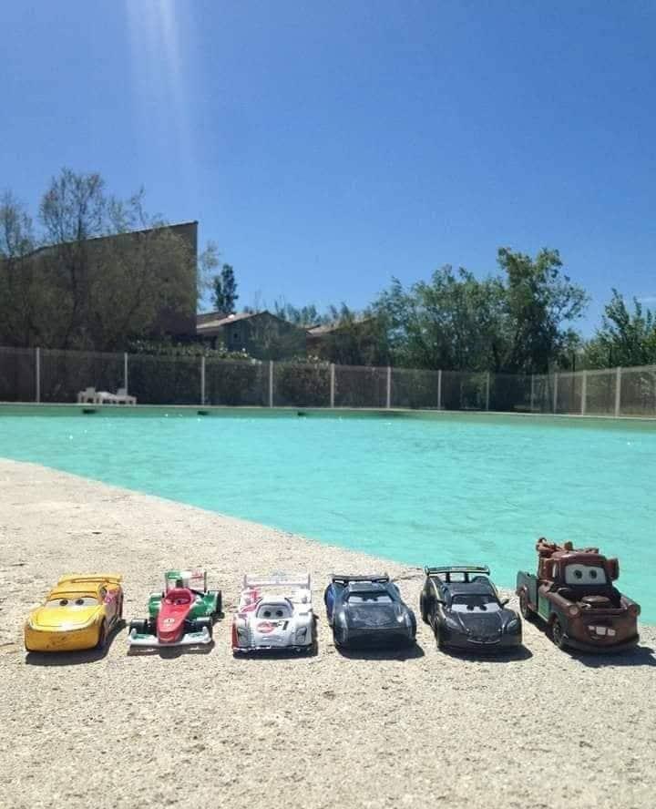 Logement entier avec piscine  jusqu'a 6 personnnes