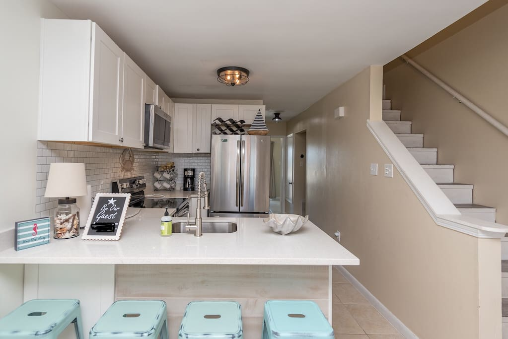 All new appliances and newly finished kitchen remodel