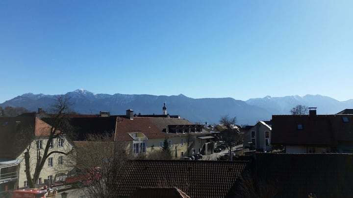 Zentraler Bergblick Murnau - Spektakuläre Aussicht