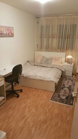 Pretty  et cosy room fully furnished - Lancy - Departamento