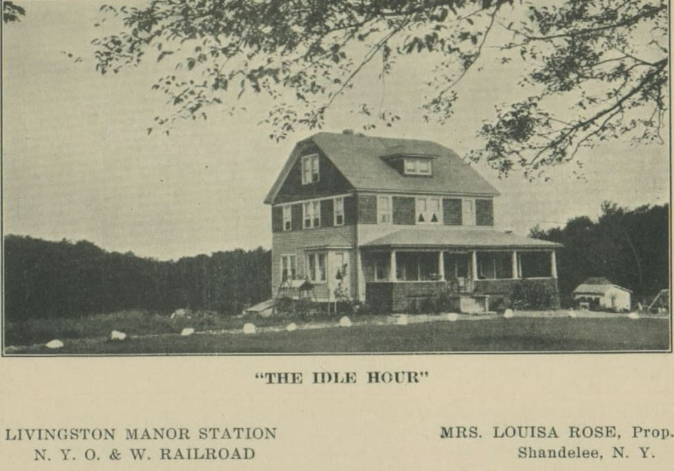 """""""The Idle Hour"""" boarding house in the 1920's"""