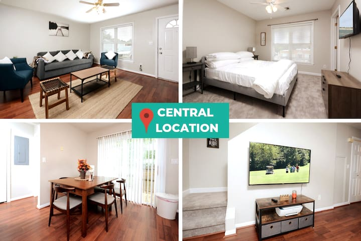 ❤️ Cozy 3 bed, Close To Duke Uni & Downtown Durham