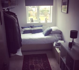 A single room in a very chilled flat - Hitchin