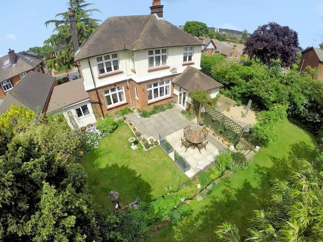 Detached family home 10 min walk to Ipswich Centre
