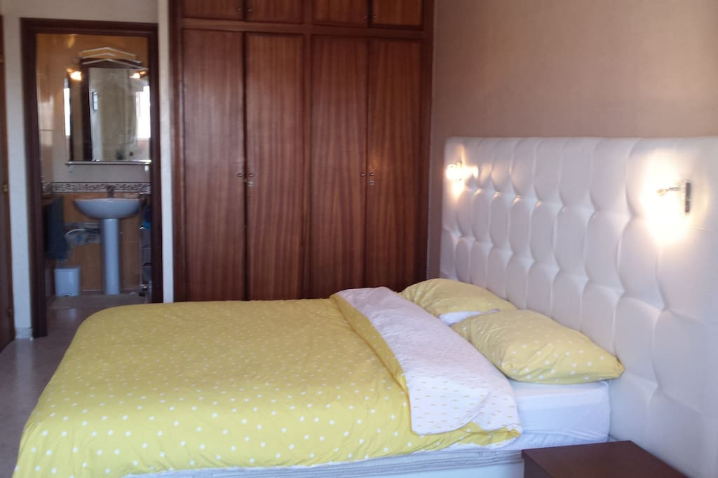 Bedroom with private access to shower and toilet
