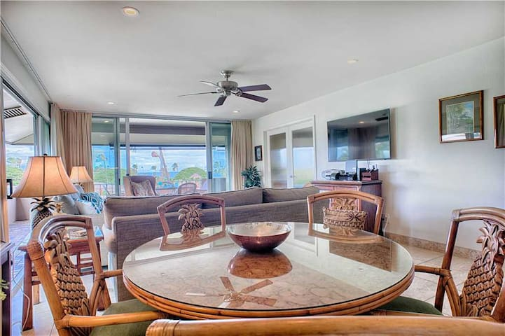 WOW! 1500 sq ft 2 BR OV Kaanapali Beach - Walk to Whaler's Village - K200