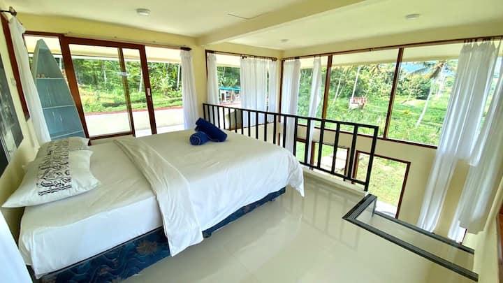 Sidemen Loft Style Villa around Rice Field