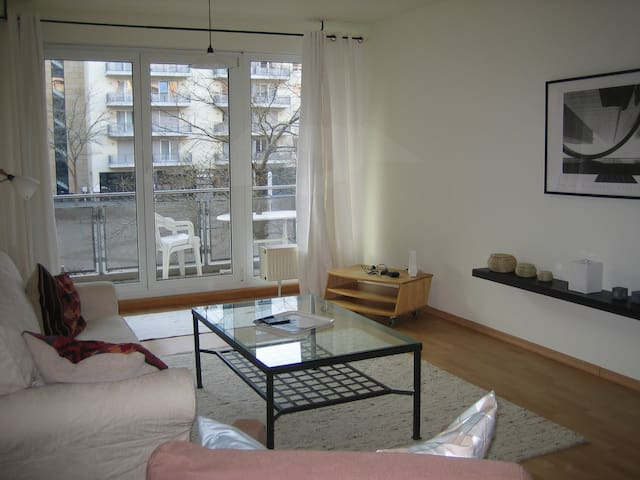 gut gelegene 2-Zimmerwohnung, Messenähe - Francfort-sur-le-Main - Appartement en résidence