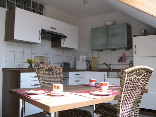 Top Ferienwohnung in herrl. Lage (Schwäbische Alb) - Hausen am Tann - Condominium