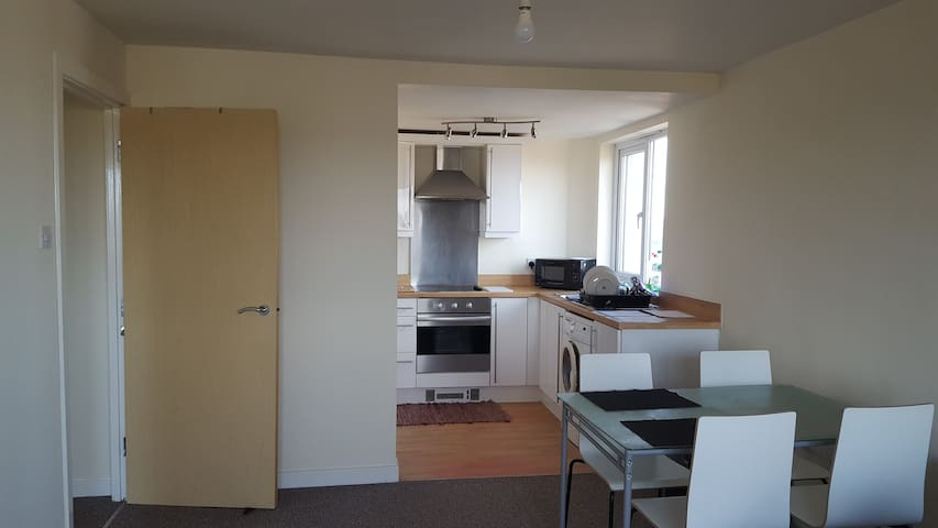 Lovely one bed flat with a view - near city centre