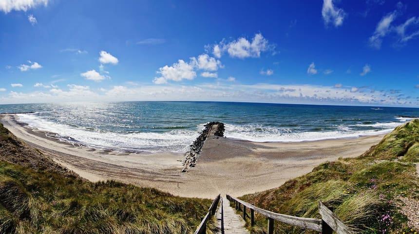 Lynghøj B 350m t Vesterhavet - Lemvig - Huis