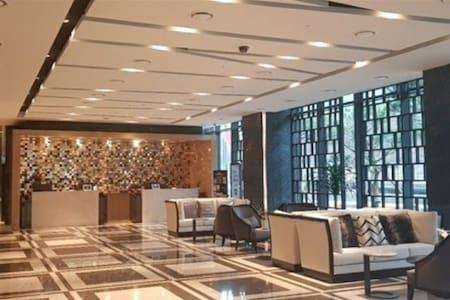 정선 인투라온 호텔 (슈페리어 더블 1인실) 장기숙박 가능