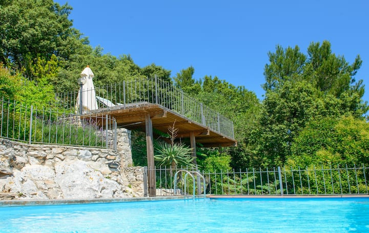 Deluxe Villa, Heated Pool & Seaview