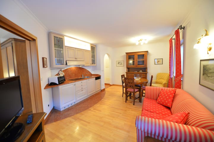 118A - Elegante Appartamento bilocale in centro - Ortisei