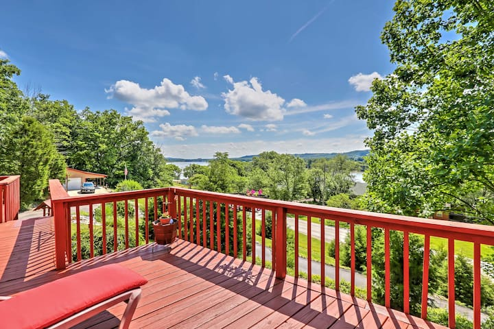 NEW! 3BR Vevay Home Overlooking the Ohio River