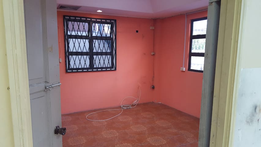 Ground floor apartment for rent.