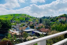 El Sereno Hills (not viewable from the room; just displaying the neighborhood)
