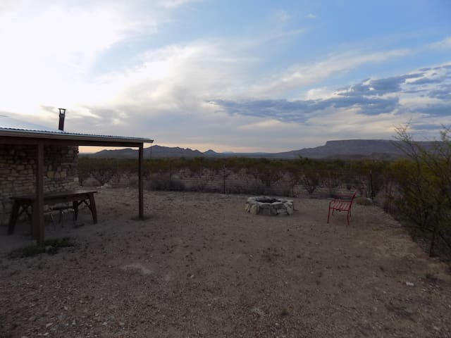 Casa de Cazadores.  Authentic Terlingua.