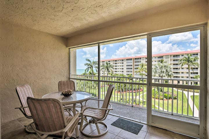 Beachfront Bonita Springs Condo w/Balcony & Pool!