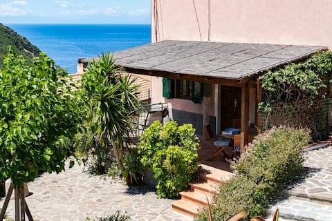 Casa Gelso, vista mare e relax nella natura