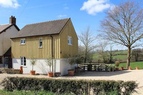 Stylish comfortable cottage, stunning views.
