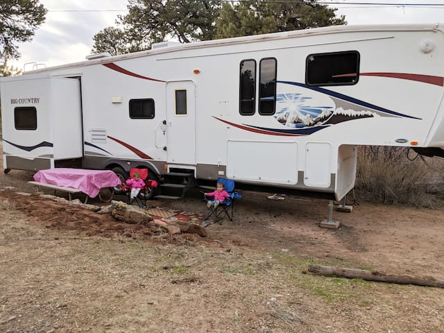 Camping for a Cause  at Roughlock Resort