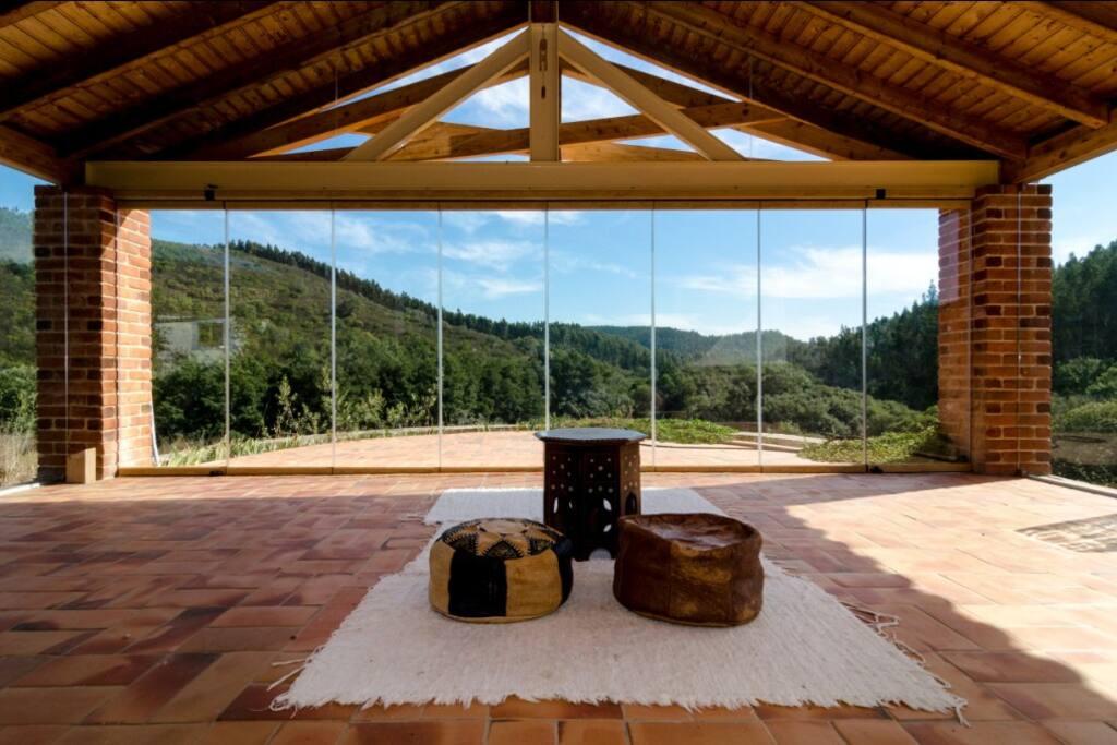 Meditation temple - Amazing vistas