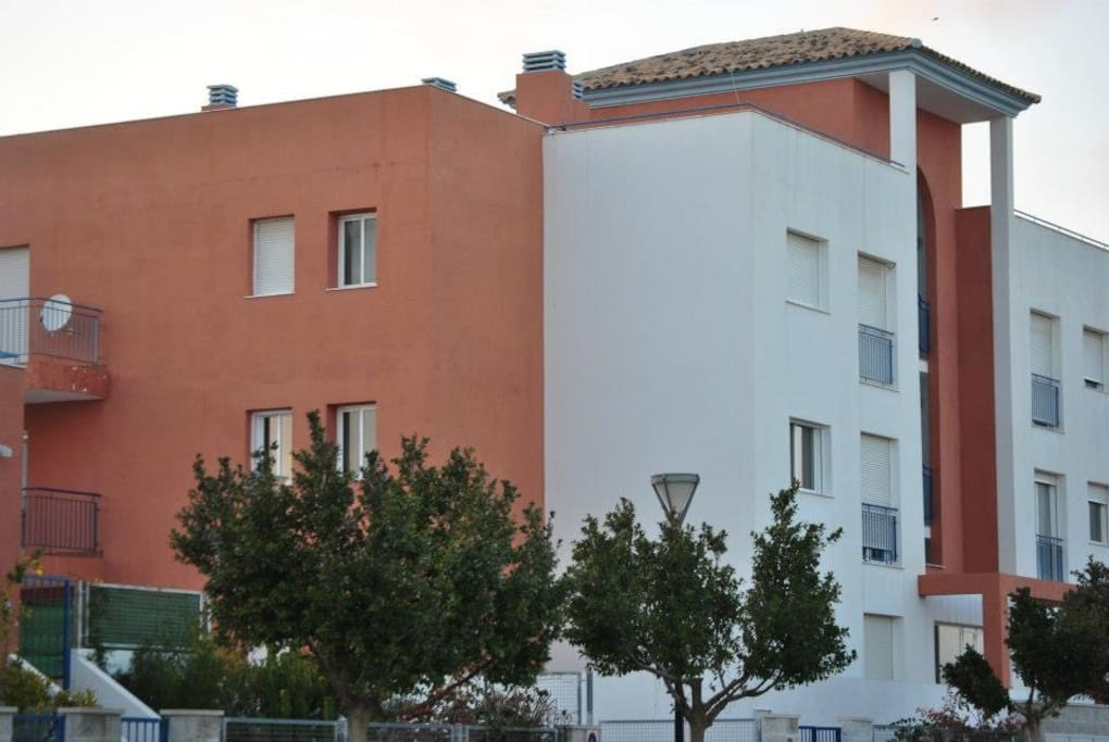The apartment on the first floor