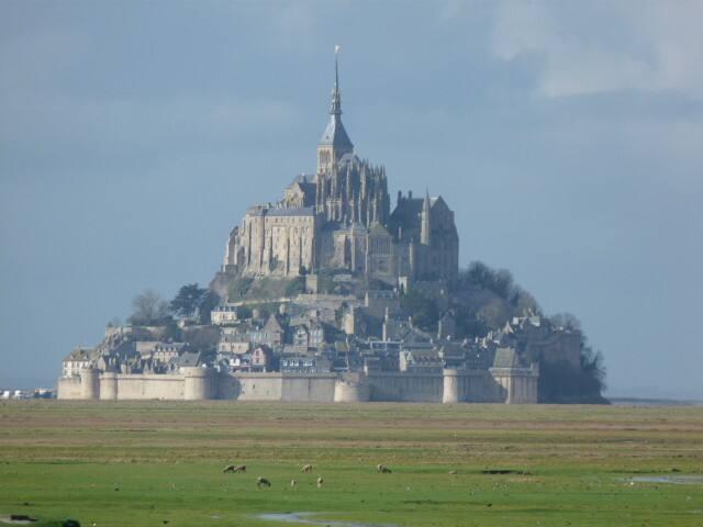 Grand gîte dans la baie du mont Saint Michel
