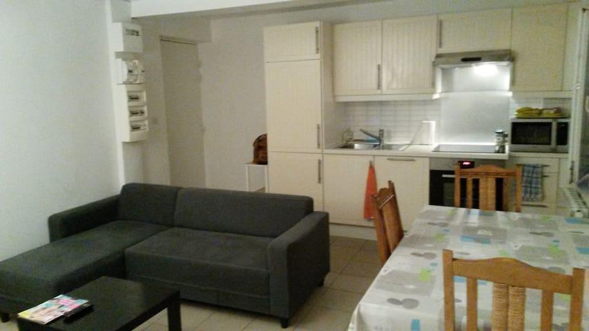 Logement de type 2 au centre ville de Mirande - Mirande - Apartamento