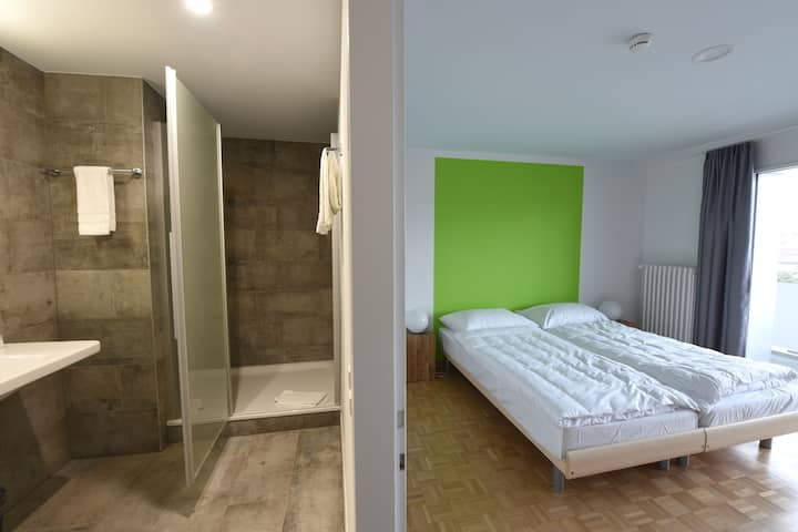Chambre privée (2 lits individuels)