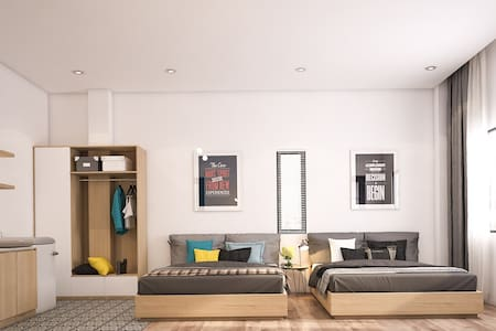 Studio Plus Room at Trang Tien Apartment - Da Nang