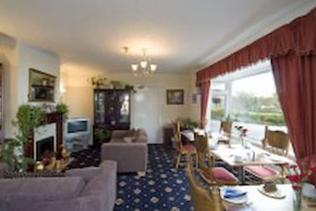 lovely family room with excellent views over loch - Bed & Breakfast