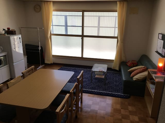 KUNNECHUPU guest house 2BED ROOM TYPE A(max3p) - Furano - Lägenhet