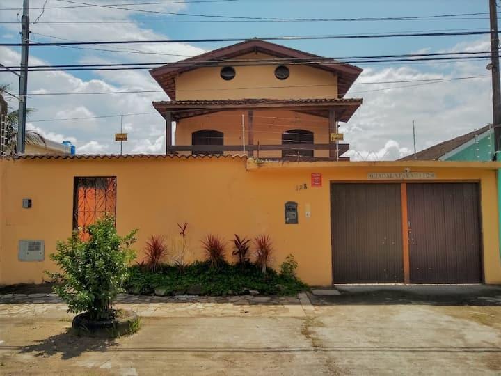 Casarão da Praia Guarujá  Suíte 2 - Casal/ Varanda