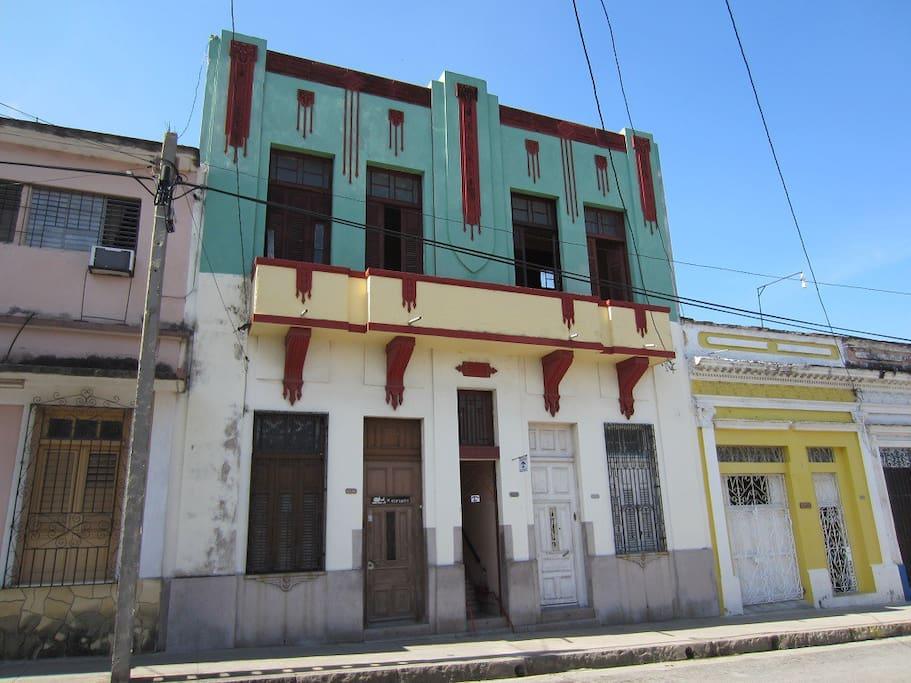 Hostal Los Balcones: Casa Colonial de 1940