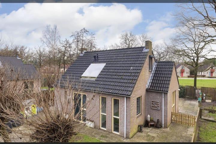 Vrijstaand huis op vakantiepark, omgeving Nijmegen
