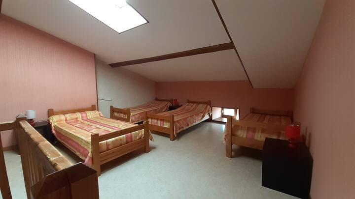 Kamer voor natuurliefhebbers in Echandelys
