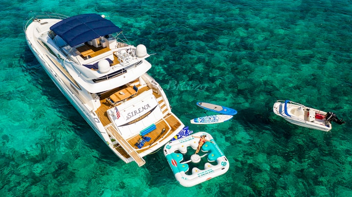 Private Yacht Daytrips/Term- 75ft Sunseeker Sirena