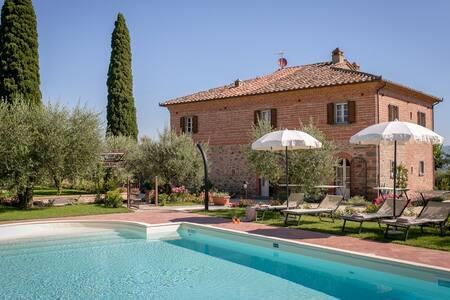 Villa Il Giardino di Diana (12 persone) - Cortona - Villa