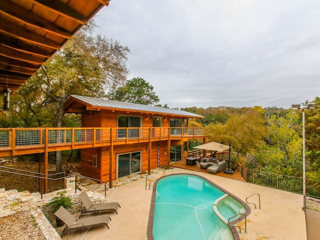 Treetop Guest House with Pool $140 Winter Rate! - Austin - Guesthouse