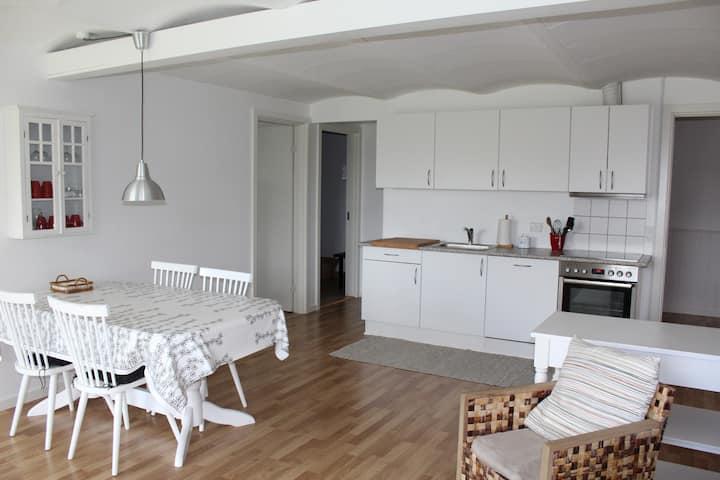 Hyggelig lejlighed -2 soveværelser,køkken og bad