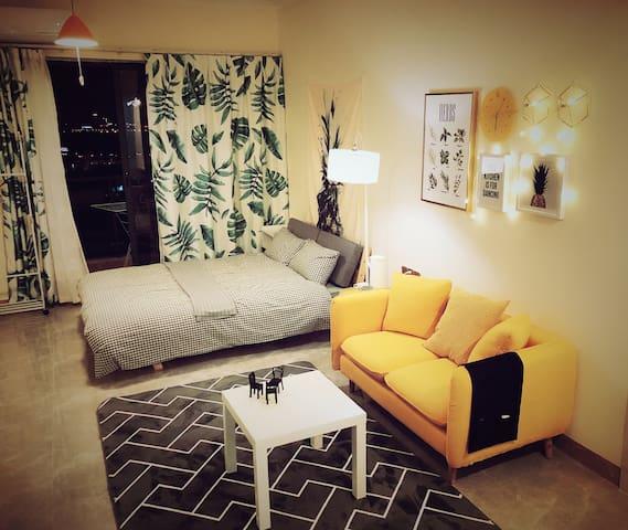 【暖暖的小屋| 菠萝屋】近广州南站|北欧风|地铁旁|长隆|温馨独立公寓|广交会|INS网红都喜欢