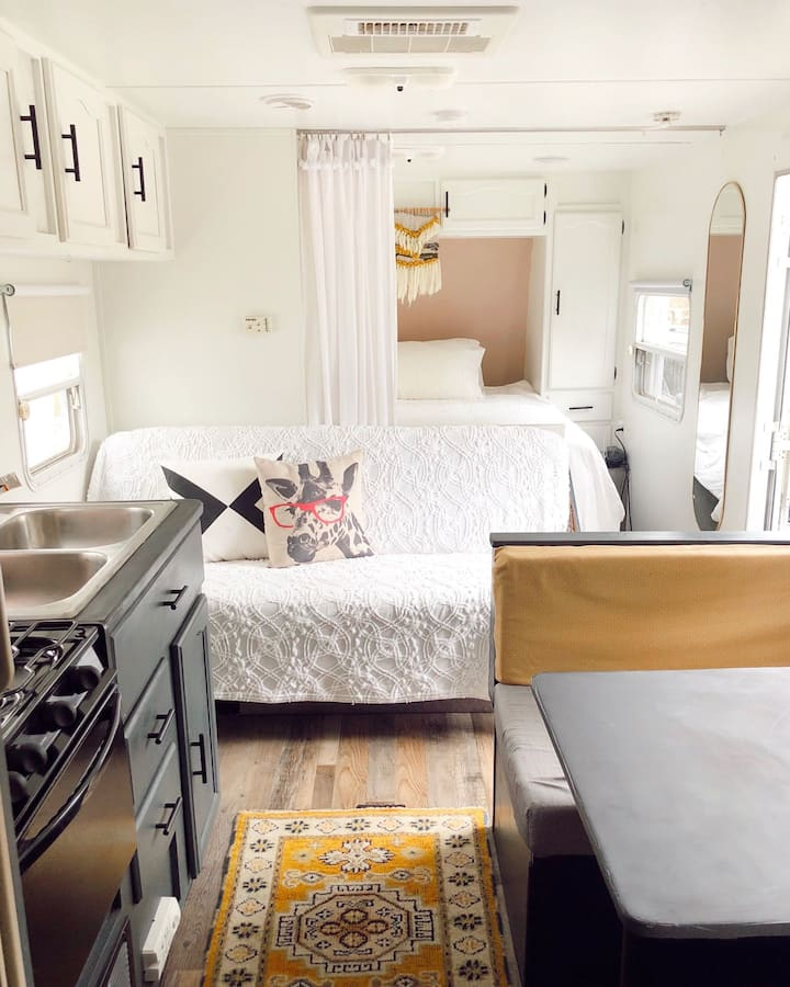 Try a tiny home/ mobile life for beginners