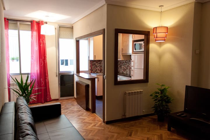 Ch Nice flat in Gran Vía - Madrid - Lejlighed