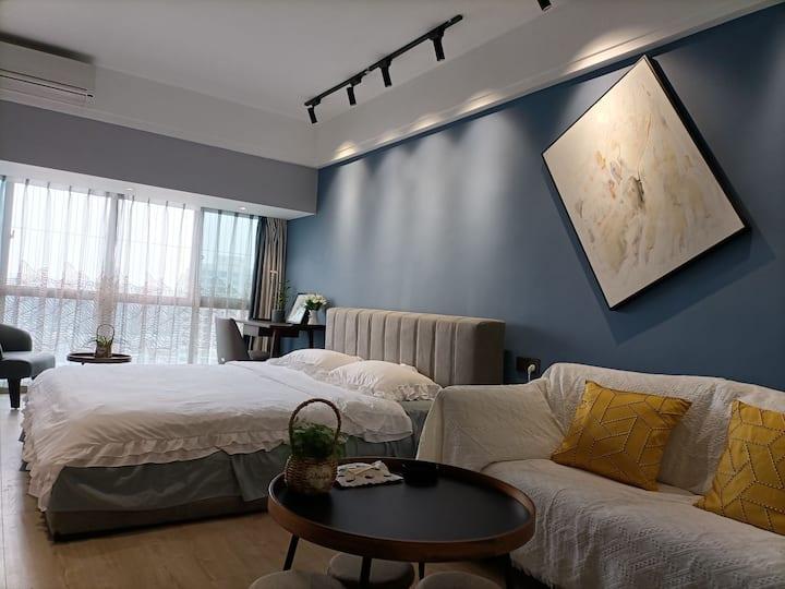 【初见】蒸湘区近南华大学/低调奢华/高端品质乳胶大床房