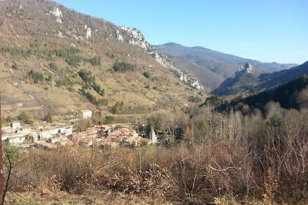 Maison de village en pays Cathare - Joucou