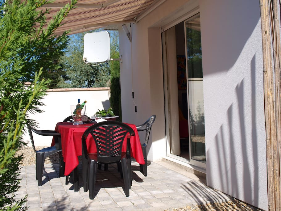 terrasse privative -