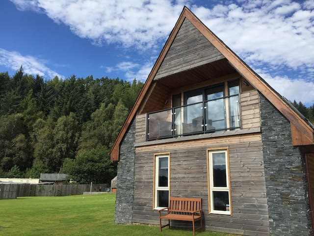 Balmaha Lodges/ Lodge #2 (ground floor)